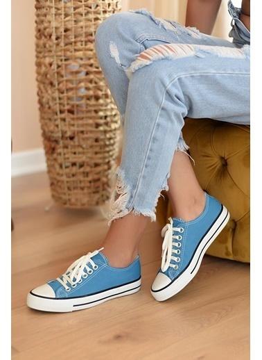 Pembe Potin A3232-20Mavi Kadın Mavi Ayakkabı A3232-20Mavi Mavi